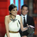 Elena Anaya recoge su Premio Goya 2012