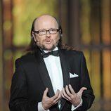 Santiago Segura durante la gala de los Premios Goya 2012