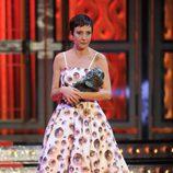 Eva Hache durante los Premios Goya 2012