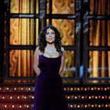 Salma Hayek en la gala de los Premios Goya 2012