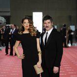 Juana Acosta y Ernesto Alterio en la alfombra roja de los Goya 2012