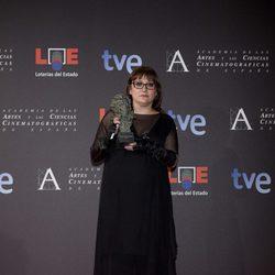 Isabel Coixet posa con su Goya 2012