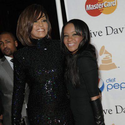 Whitney Houston con su hija Bobbi Kristina