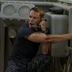 Taylor Kitsch en la película 'Battleship'