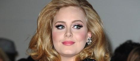 Adele en los premios Brit 2012
