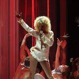 Actuación de Rihanna en los premios Brit 2012