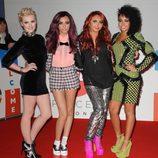 La banda Little Mix en los premios Brit 2012