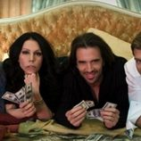 Anamor con Toñi Salazar, Roberto Liaño y Darek en su nuevo videoclip