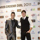 Andy y Lucas en los Premios Cadena Dial 2011