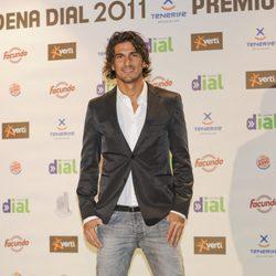Hugo Salazar en los Premios Cadena Dial 2011