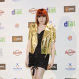 Angy Fernández en los Premios Cadena Dial 2011