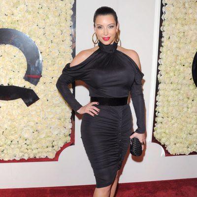 Kim Kardashian en la fiesta QVC en Los Ángeles