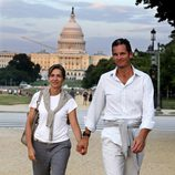 La Infanta Cristina e Iñaki Urdangarín cogidos de la mano en Washington