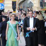 Los Duques de Palma en la boda de Victoria y Daniel de Suecia