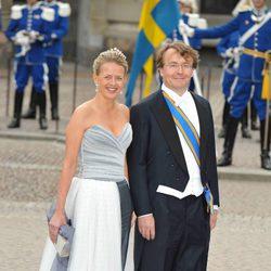 El Príncipe Johan Friso de Holanda y su mujer Mabel