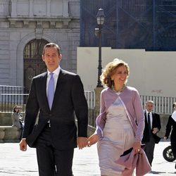 Iñaki Urdangarín y la Infanta Cristina en Oviedo