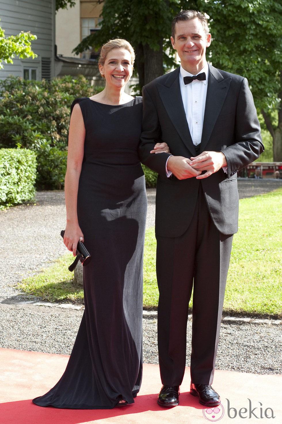 La Infanta Cristina e Iñaki Urdangarín