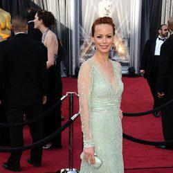 Berenice Bejo en la alfombra roja de los Oscar 2012