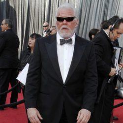 Nick Nolte en la alfombra roja de los Oscar 2012