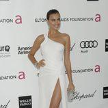 Irina Shayk en la fiesta de Elton John tras los Oscar 2012