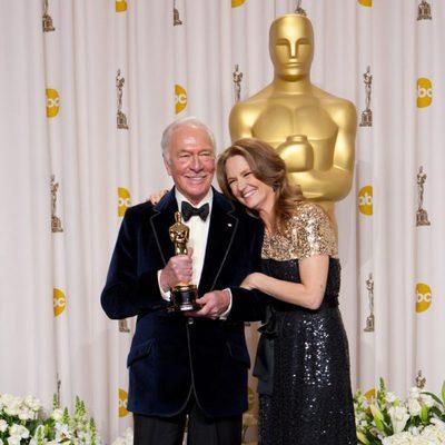 Christopher Plummer Y Melissa Leo en los Oscars 2012