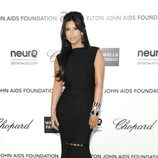 Kim Kardashian en la fiesta post Oscars 2012 celebrada por Elton John