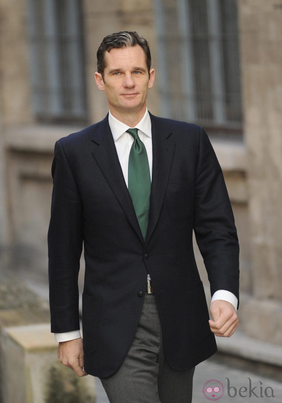 El Duque de Palma en su segundo día de declaración