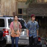 Justin Bieber y Selena Gomez paseando por Hollywood
