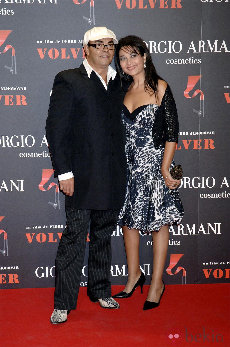 Eduardo Cruz y su mujer Carmen Moreno