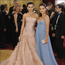Penélope Cruz y Mónica Cruz en los Oscars 2007