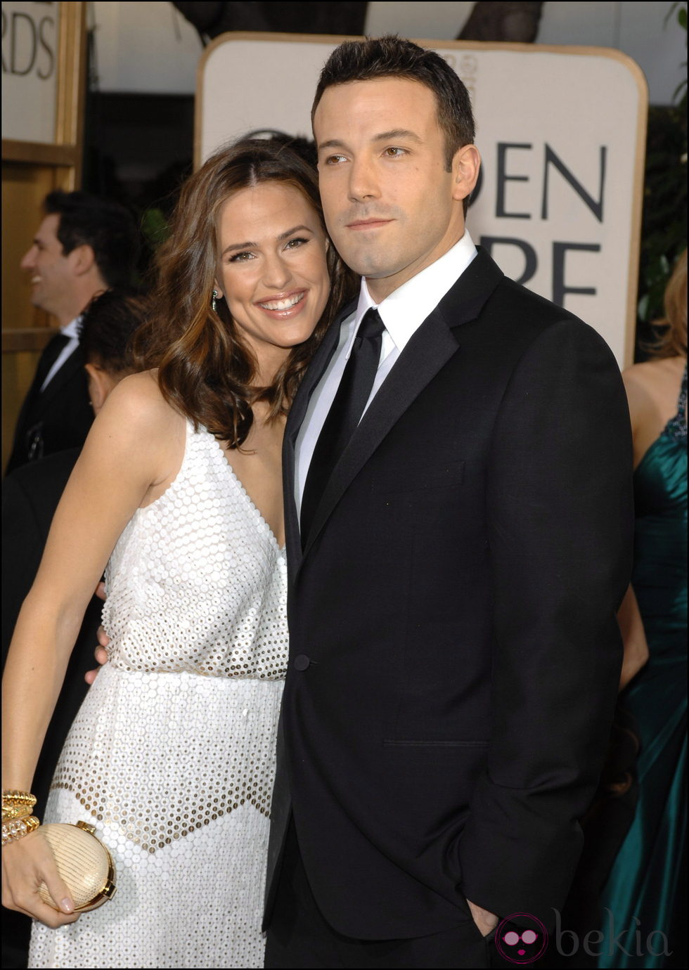 Jennifer Garner y Ben Affleck en una gala