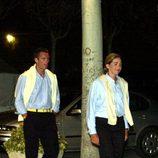 Los Duques de Palma pasean por Mallorca vestidos iguales