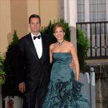 La Infanta Cristina e Iñaki Urdangarín en la cena de gala previa a la boda del Príncipe Felipe