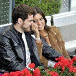 Sara Carbonero e Iker Casillas en un partido de tenis