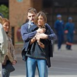 Sara Carbonero e Iker Casillas por las calles de Madrid