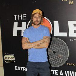 Macaco en el estreno de La Terremoto de Alcorcón en 'The Hole'
