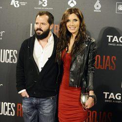 Pilar Rubio y Ángel Martín en el estreno de 'Luces Rojas' en Madrid