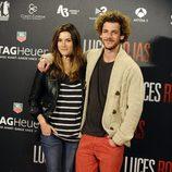 Guillermo Barrientos en el estreno de 'Luces Rojas' en Madrid