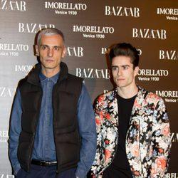 David Delfín y Pelayo en la fiesta de 'Harper's Bazaar' en Madrid