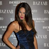 Mireia Canalda en la fiesta de 'Harper's Bazaar' en Madrid