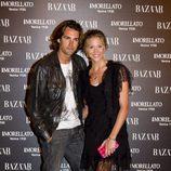 Patricia Montero y Álex Adrover en la fiesta de 'Harper's Bazaar' en Madrid