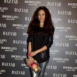 Patricia Pérez en la fiesta de 'Harper's Bazaar' en Madrid