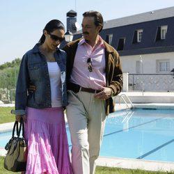 Eva Marciel y Aníbal Soto interpretan a Isabel Pantoja y Julián Muñoz en 'Mi gitana'