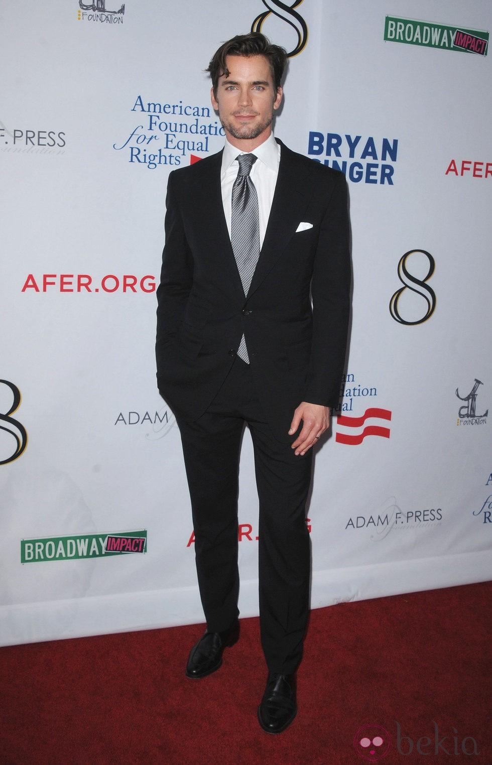 Matt Bomer en el estreno de la obra '8'