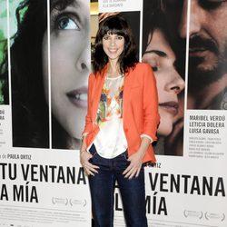 Maribel Verdú en la presentación de 'De tu ventana a la mía'
