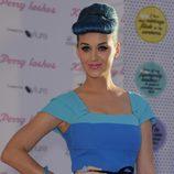 Katy Perry en la presentación de su línea de pestañas postizas