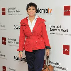 Isabel Gemio en el homenaje a los 'Tesoros vivos de la televisión'
