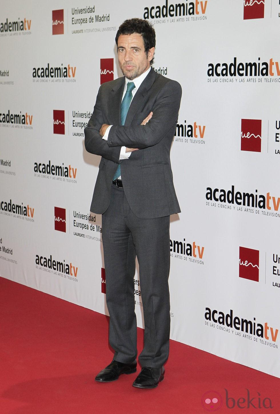 Daniel Écija en el homenaje a los 'Tesoros vivos de la televisión'