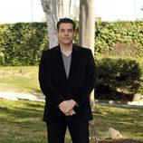 Javier Mora en la presentación de la tercera temporada de 'Los Protegidos'
