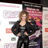 Edurne en el estreno de 'Grease'